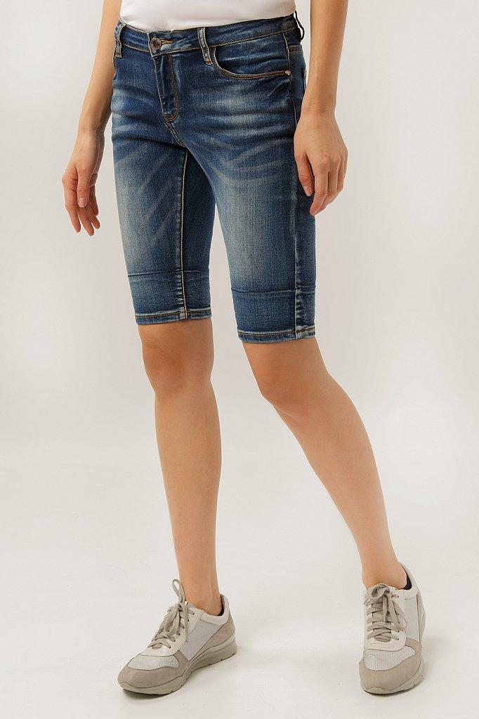 Шорты джинсовые женские, Модель S19-15025, Фото №1