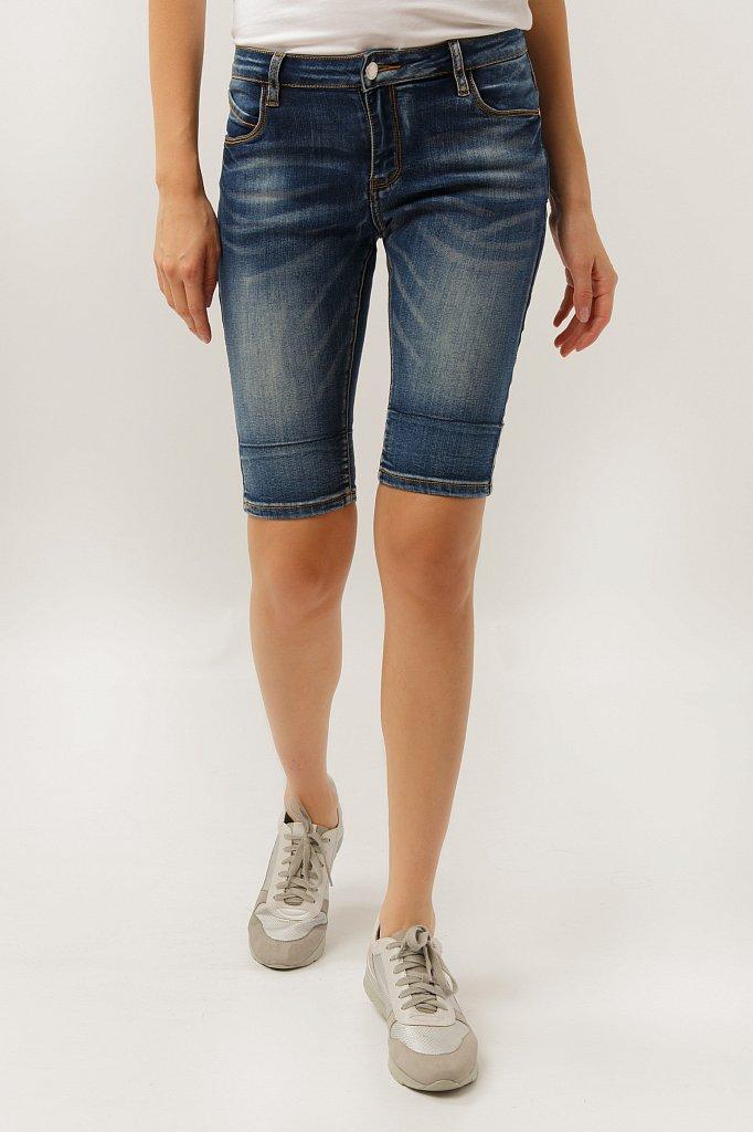 Шорты джинсовые женские, Модель S19-15025, Фото №3