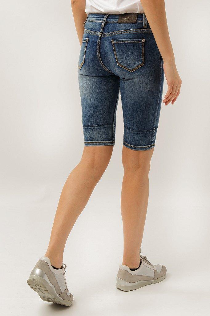 Шорты джинсовые женские, Модель S19-15025, Фото №4