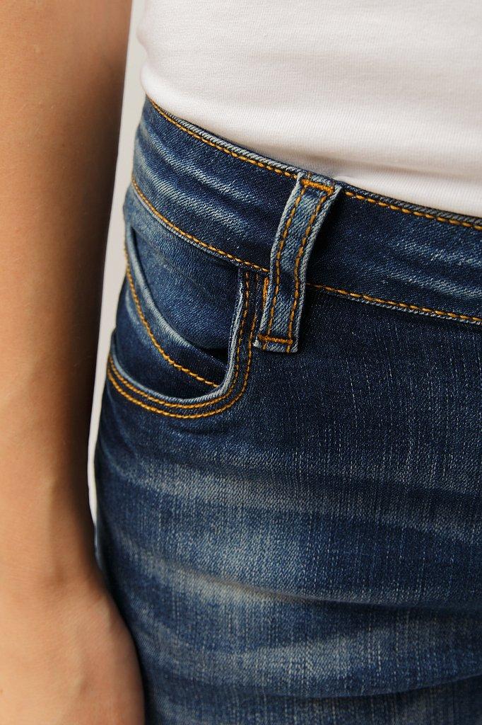 Шорты джинсовые женские, Модель S19-15025, Фото №5