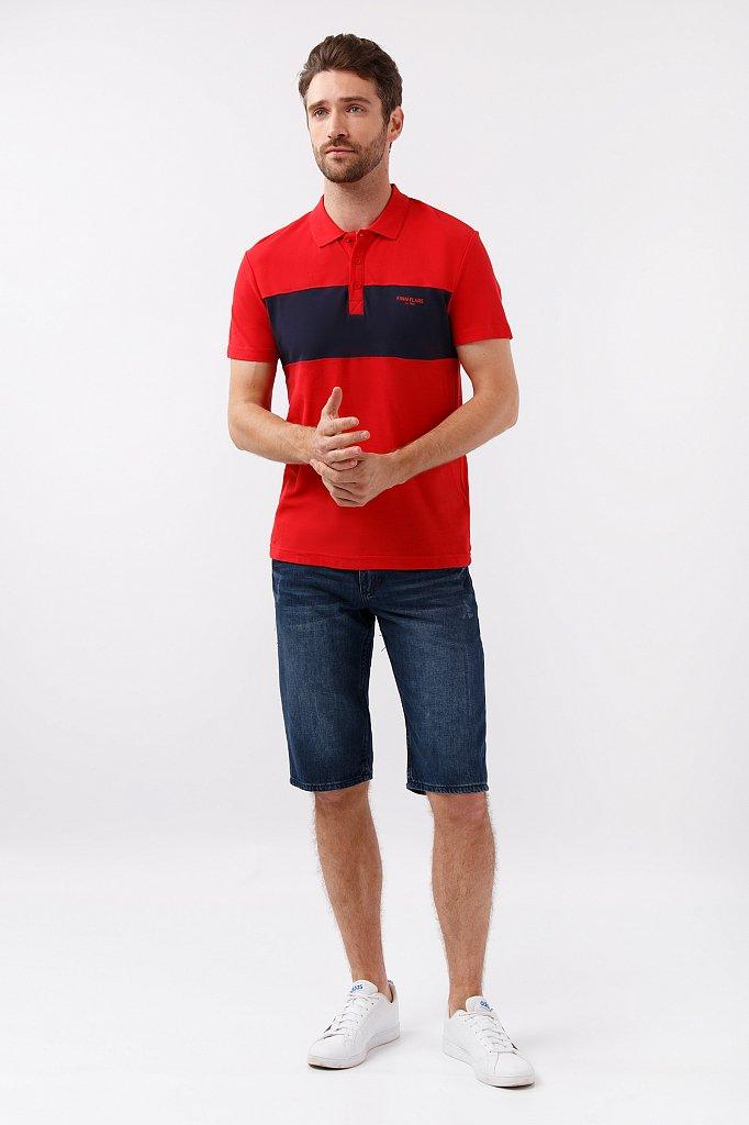 Шорты джинсовые мужские, Модель S19-25001, Фото №2