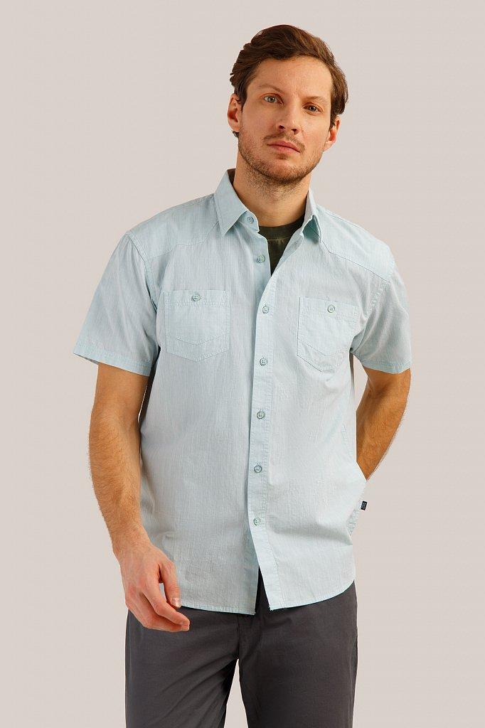 Рубашка мужская, Модель S19-21011, Фото №1