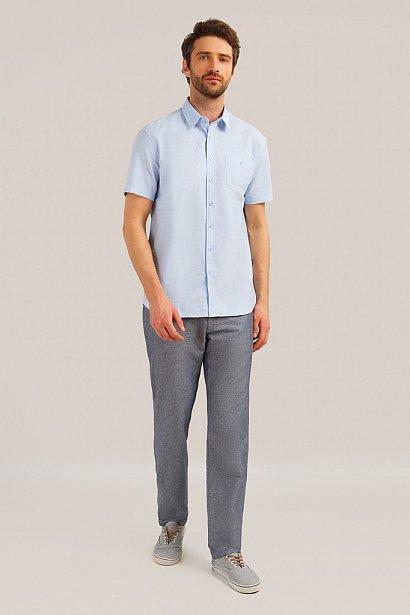 Рубашка мужская, Модель S19-21015, Фото №2