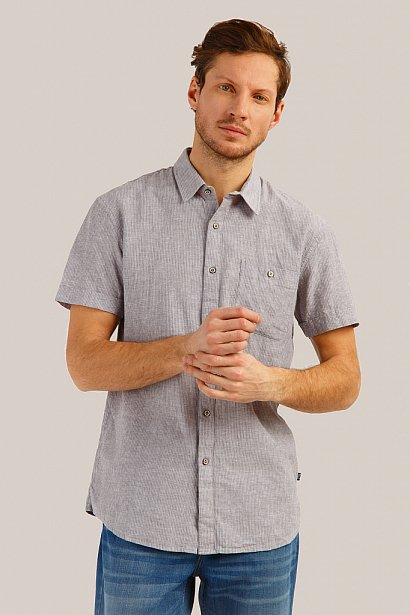 Рубашка мужская, Модель S19-21010, Фото №1