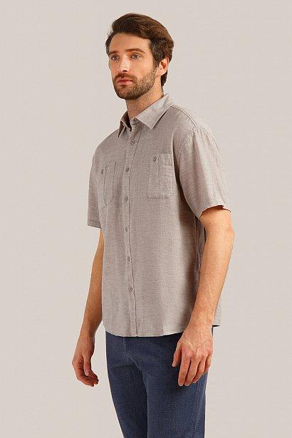 Рубашка мужская, Модель S19-21037, Фото №3