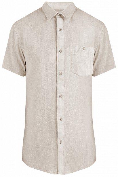 Рубашка мужская, Модель S19-42009, Фото №6