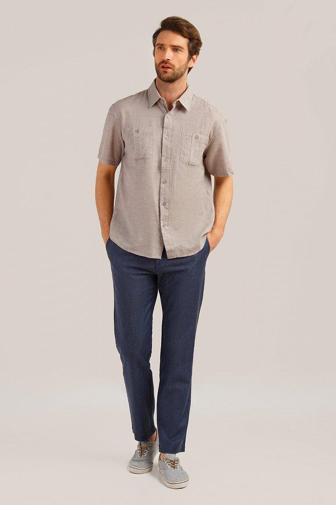 Рубашка мужская, Модель S19-21037, Фото №2