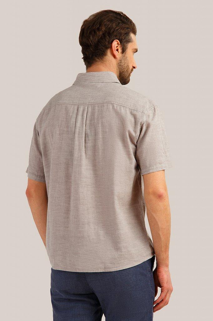 Рубашка мужская, Модель S19-21037, Фото №4