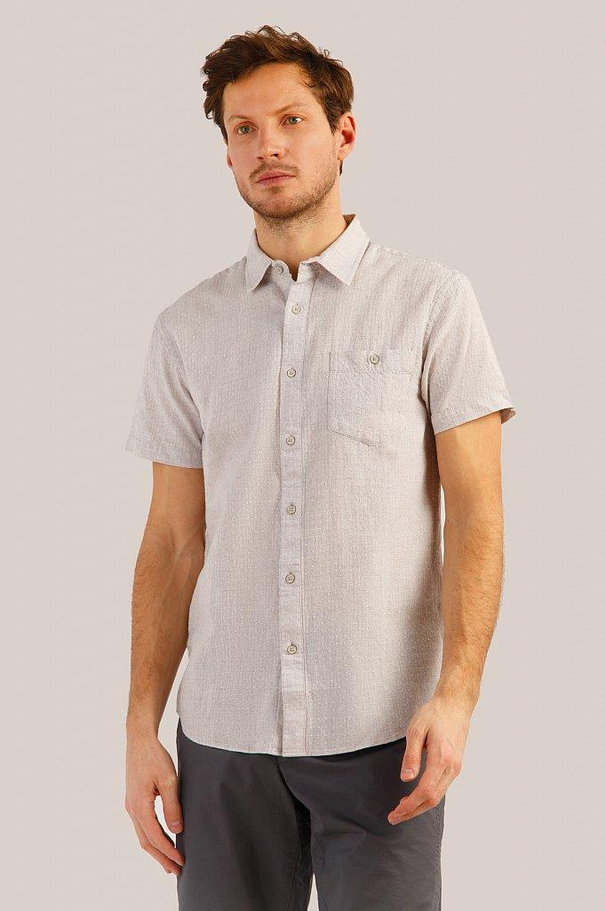 Рубашка мужская, Модель S19-42009, Фото №1
