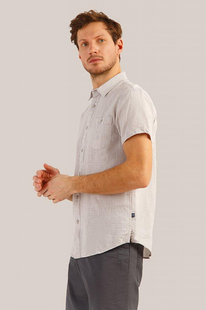Рубашка мужская, Модель S19-42009, Фото №3