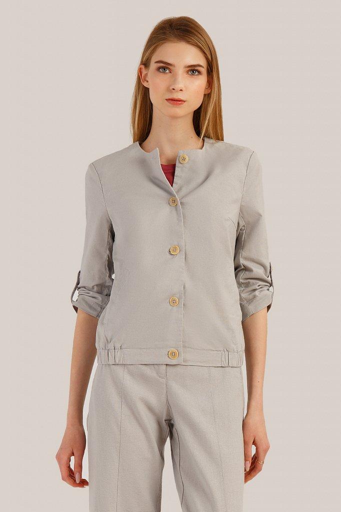 Куртка женская, Модель S19-14074, Фото №1