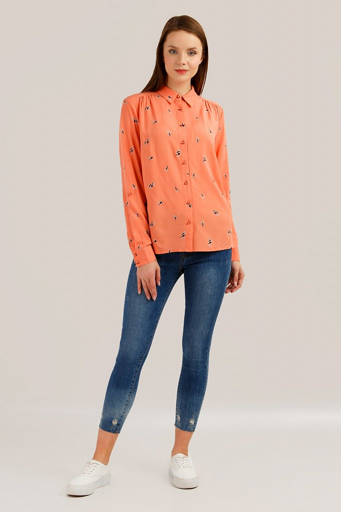Блузка женская, Модель S19-32082, Фото №2