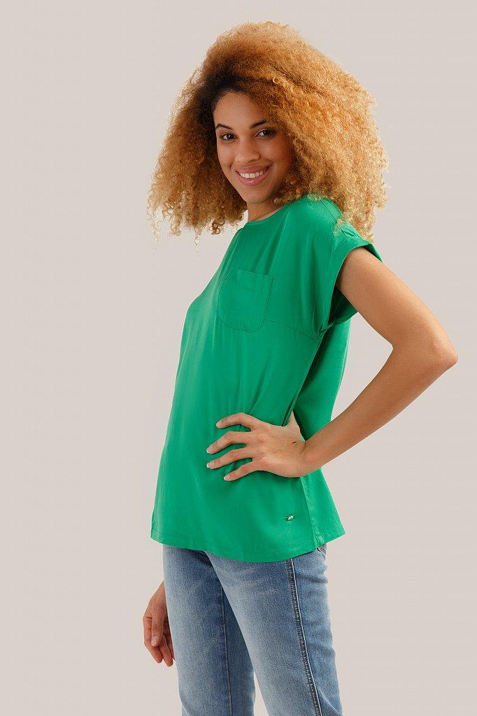Блузка женская, Модель S19-14009, Фото №3