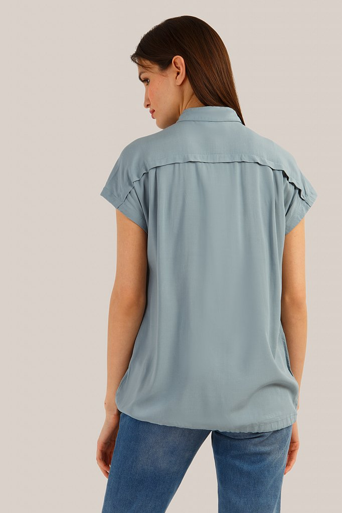 Блузка женская, Модель S19-12022, Фото №4