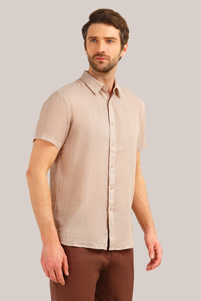 Рубашка мужская, Модель S19-24017, Фото №3
