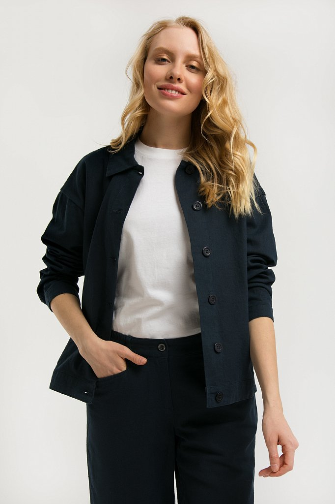 Куртка женская, Модель S20-12057, Фото №1