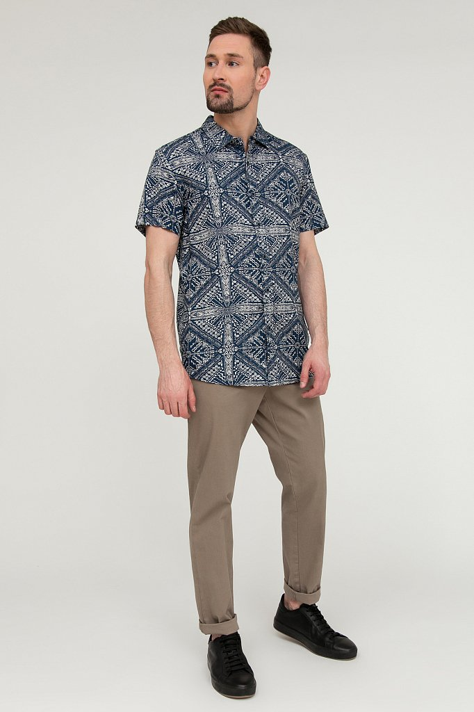 Рубашка мужская, Модель S20-22016, Фото №2