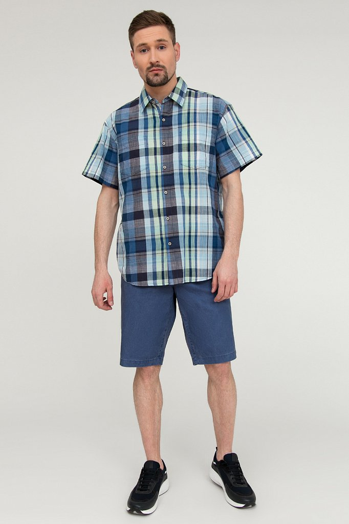 Рубашка мужская, Модель S20-24011, Фото №2