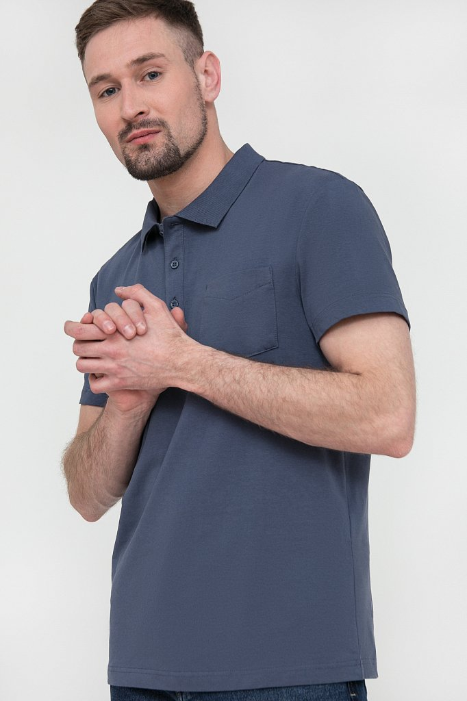 Поло мужское, Модель S20-21028, Фото №3