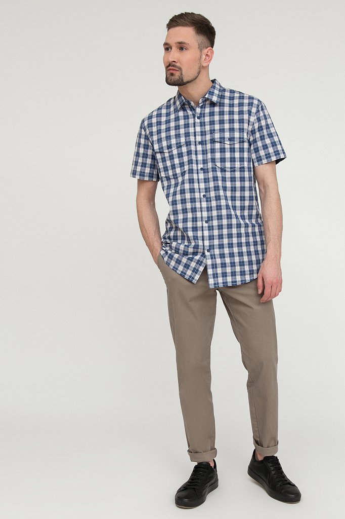 Рубашка мужская, Модель S20-22022, Фото №2