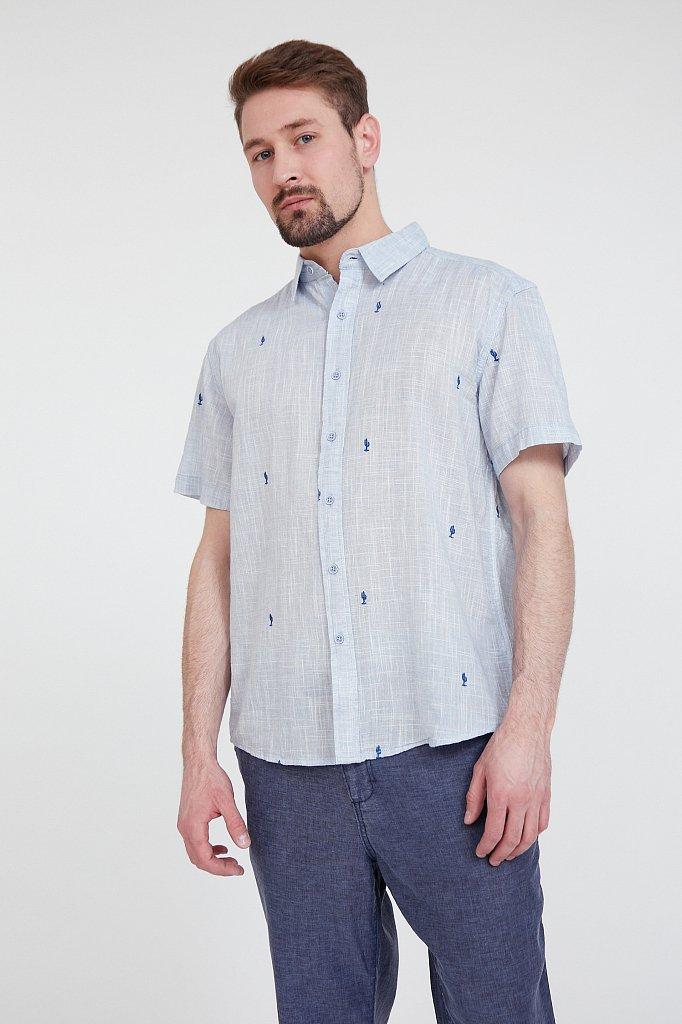 Рубашка мужская, Модель S20-24010, Фото №1
