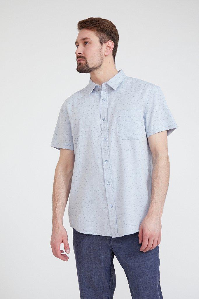 Рубашка мужская, Модель S20-42009, Фото №1