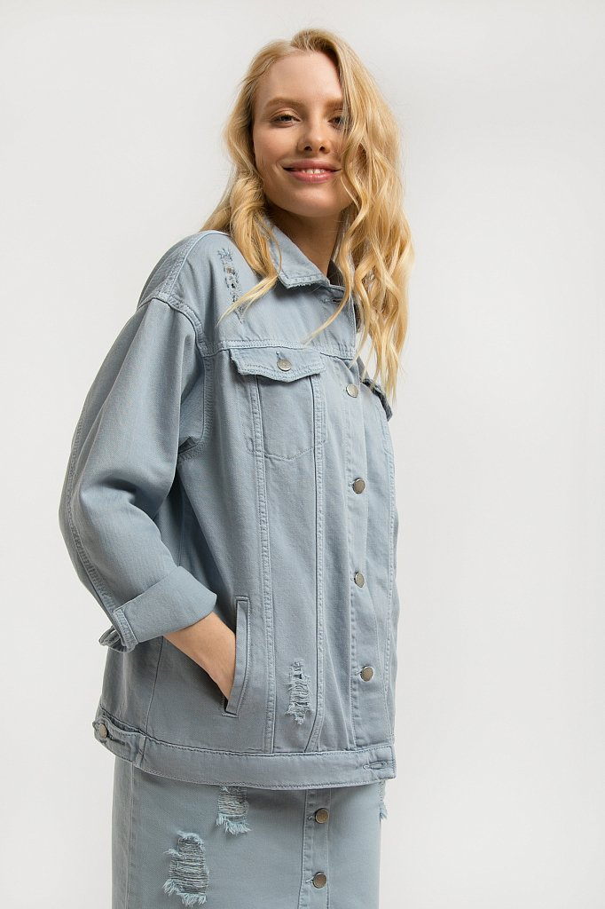 Куртка женская, Модель S20-15002, Фото №1