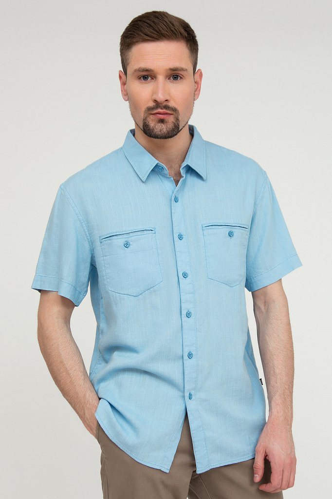 Рубашка мужская, Модель S20-21011, Фото №1