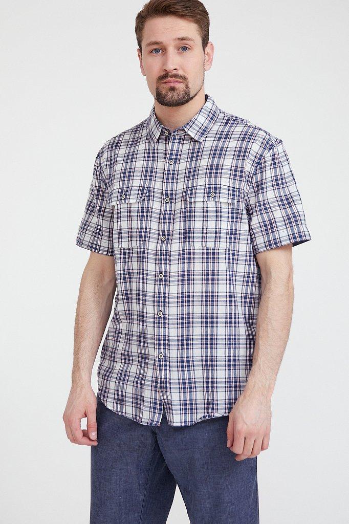 Рубашка мужская, Модель S20-22007, Фото №1