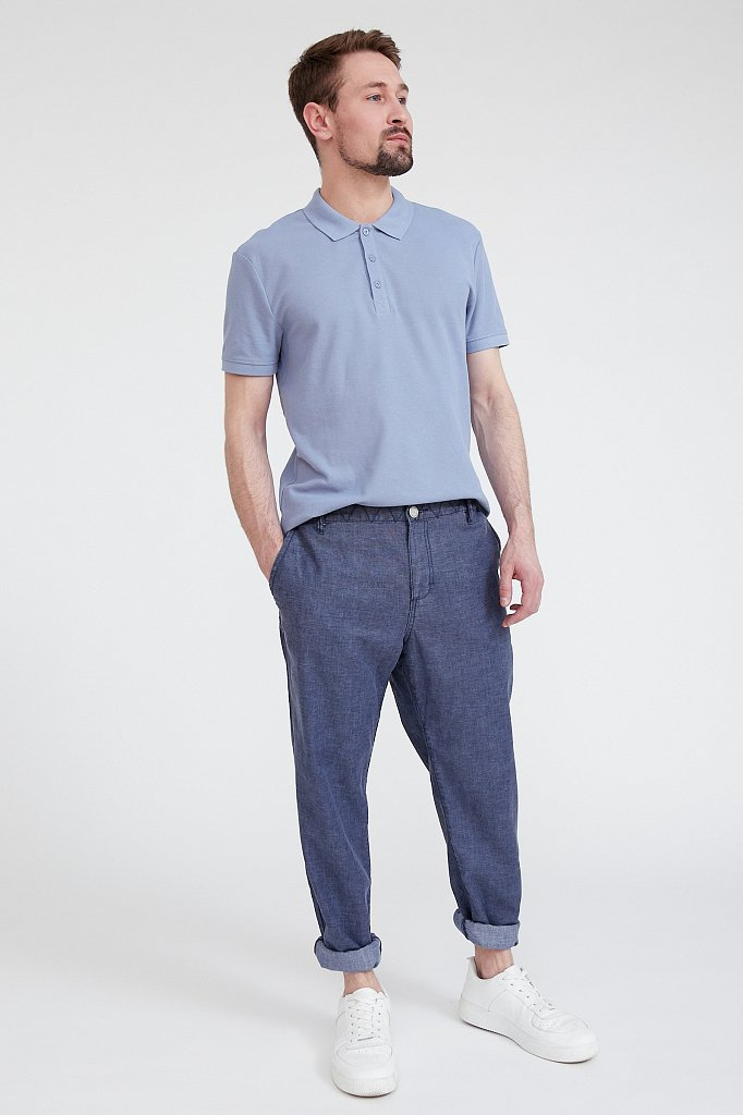 Поло мужское, Модель S20-21034, Фото №2