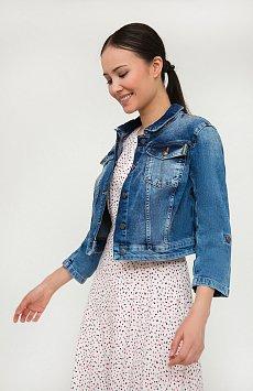 Куртка джинсовая женская S20-15003