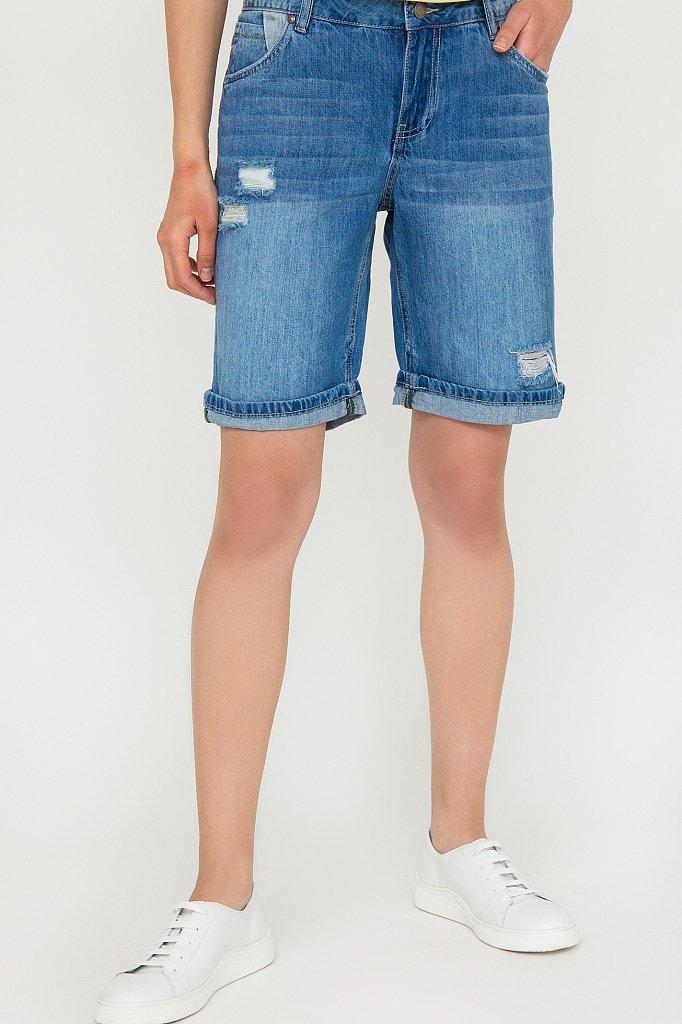 Шорты джинсовые женские, Модель S20-15018, Фото №1