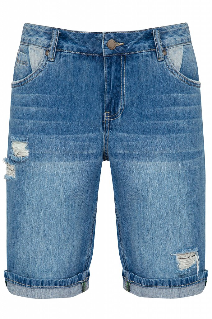 Шорты джинсовые женские, Модель S20-15018, Фото №6