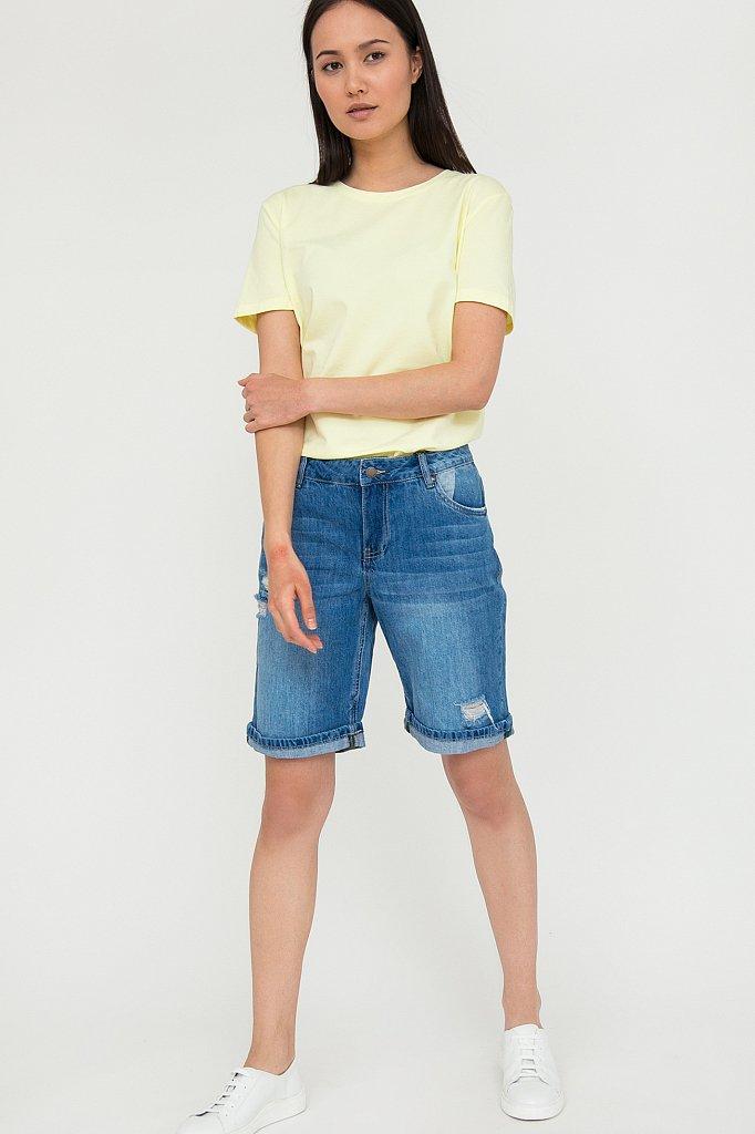 Шорты джинсовые женские, Модель S20-15018, Фото №2