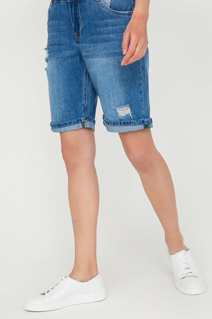 Шорты джинсовые женские, Модель S20-15018, Фото №3