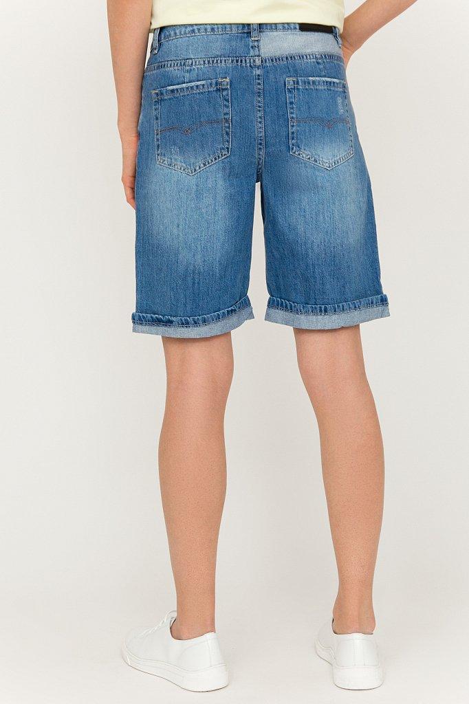 Шорты джинсовые женские, Модель S20-15018, Фото №4