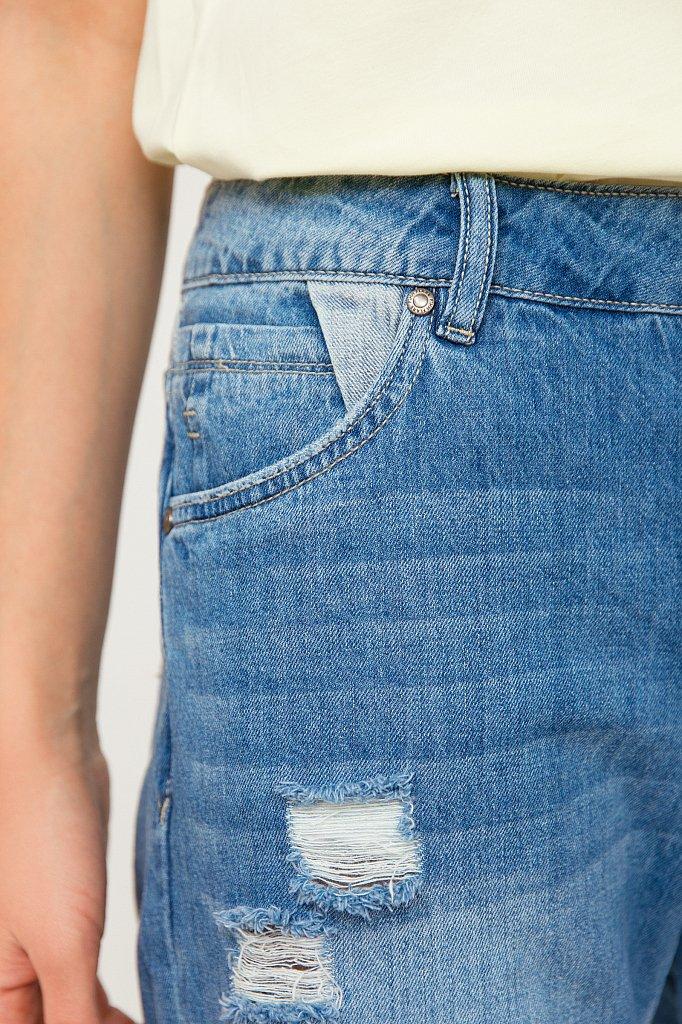 Шорты джинсовые женские, Модель S20-15018, Фото №5