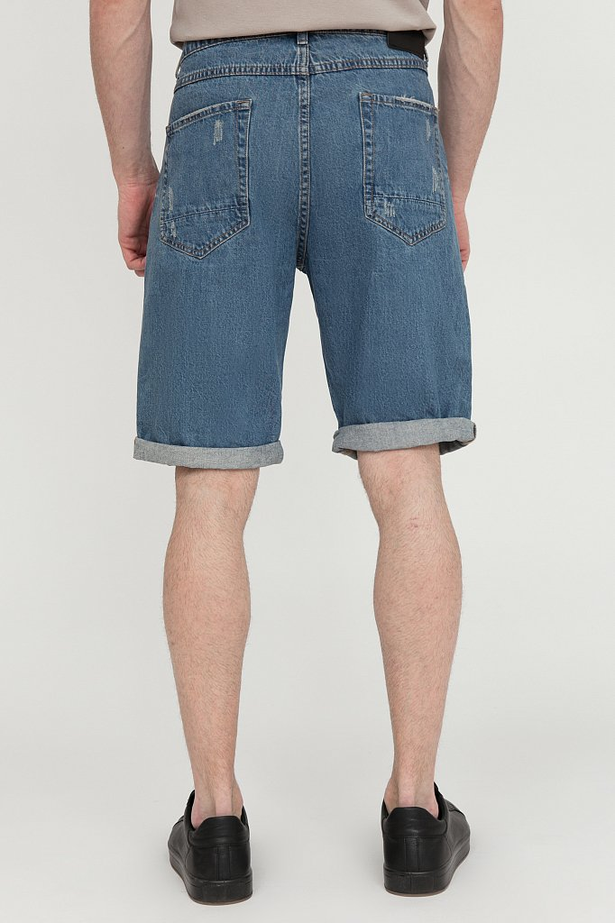 Шорты джинсовые мужские, Модель S20-25000, Фото №4