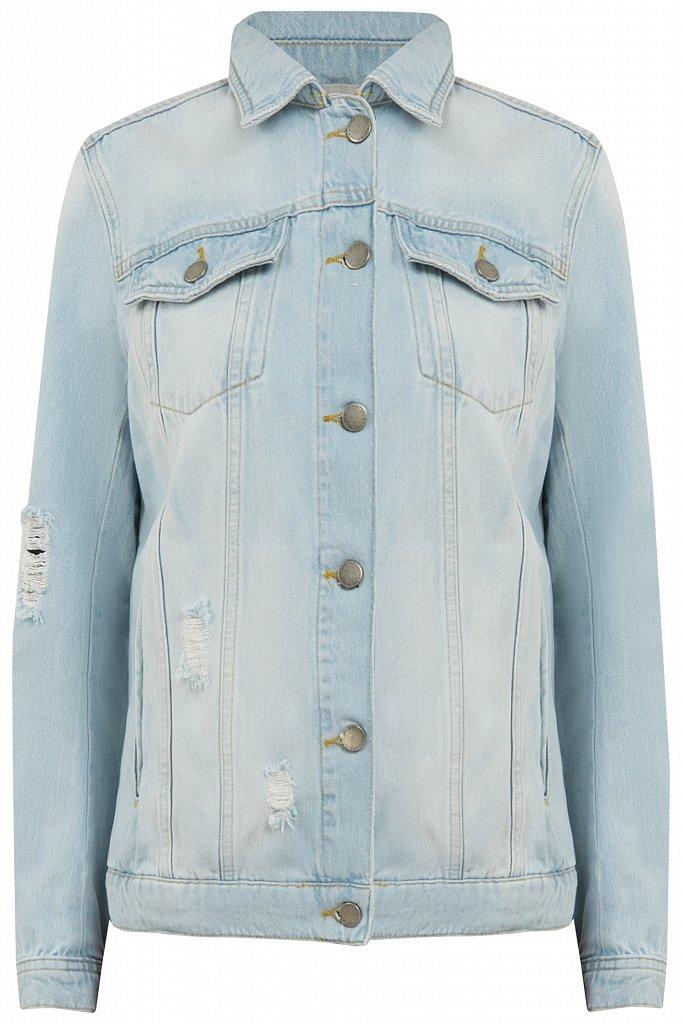 Куртка джинсовая женская, Модель S20-15004, Фото №6