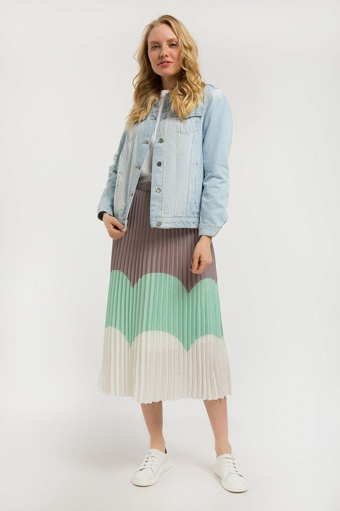Куртка джинсовая женская, Модель S20-15004, Фото №2