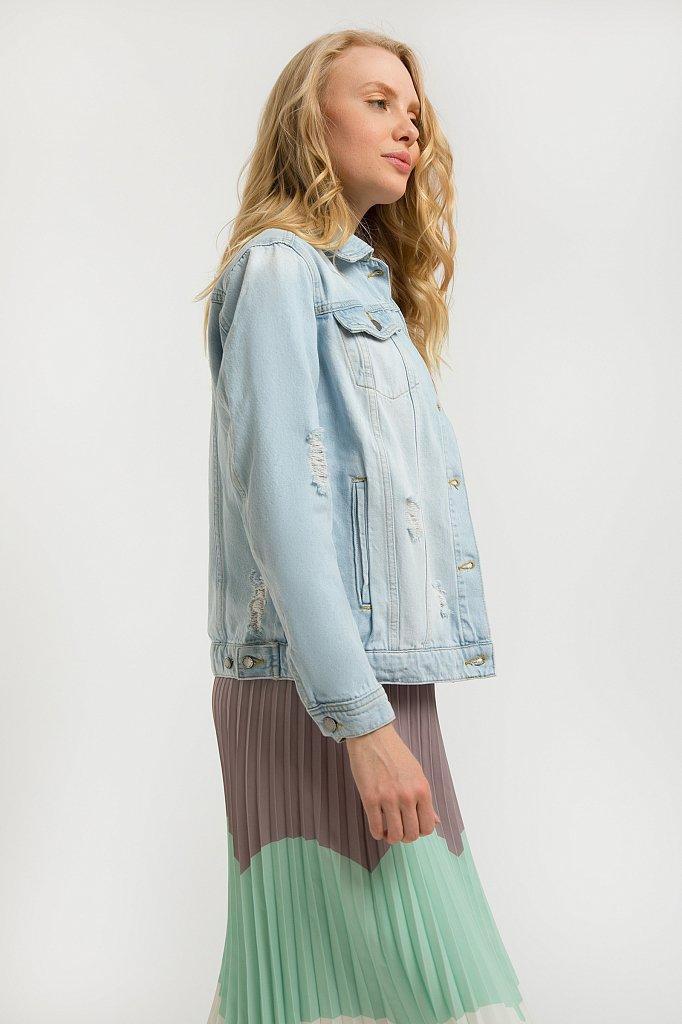 Куртка джинсовая женская, Модель S20-15004, Фото №3