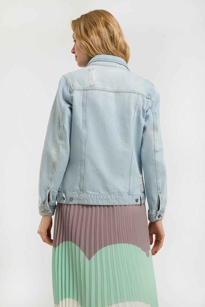 Куртка джинсовая женская, Модель S20-15004, Фото №4