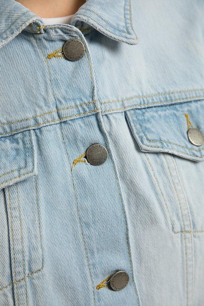 Куртка джинсовая женская, Модель S20-15004, Фото №5