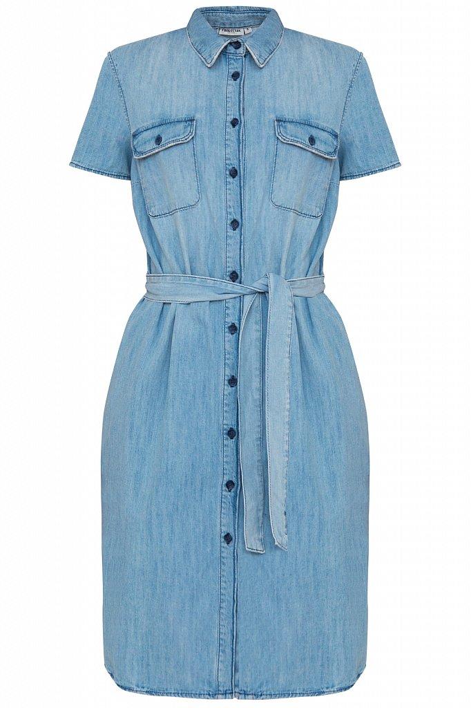 Платье джинсовое женское, Модель S20-15008, Фото №3