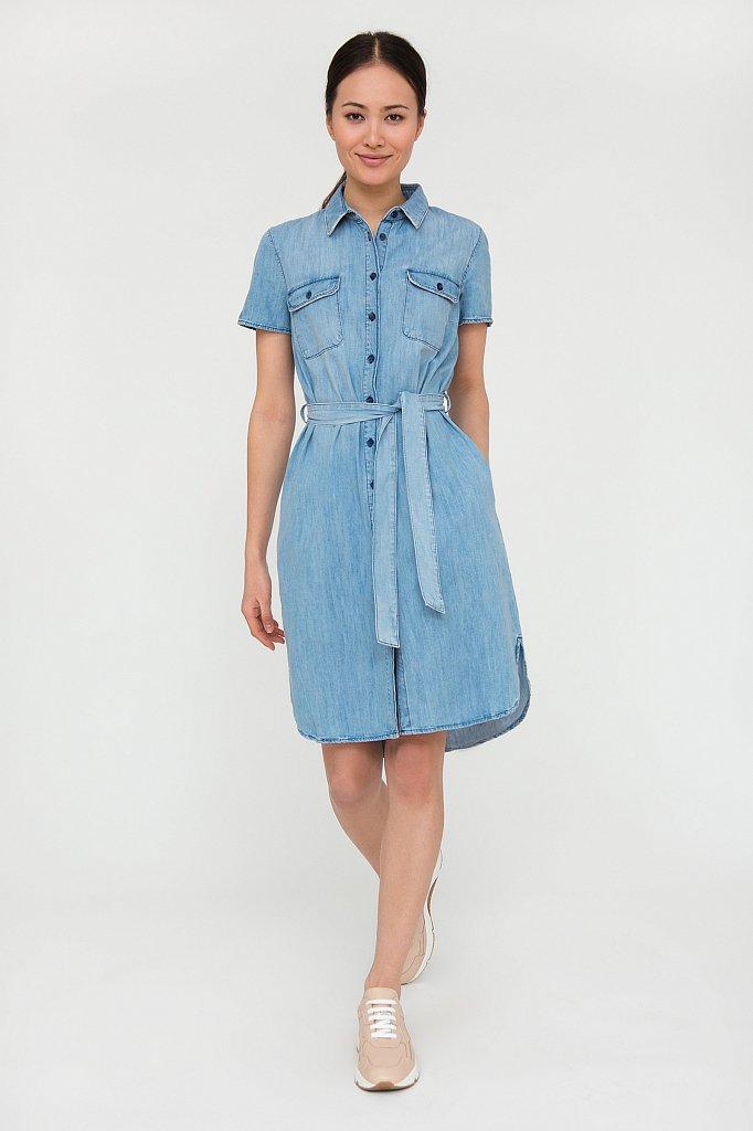 Платье джинсовое женское, Модель S20-15008, Фото №1