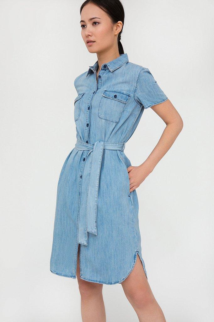 Платье джинсовое женское, Модель S20-15008, Фото №2
