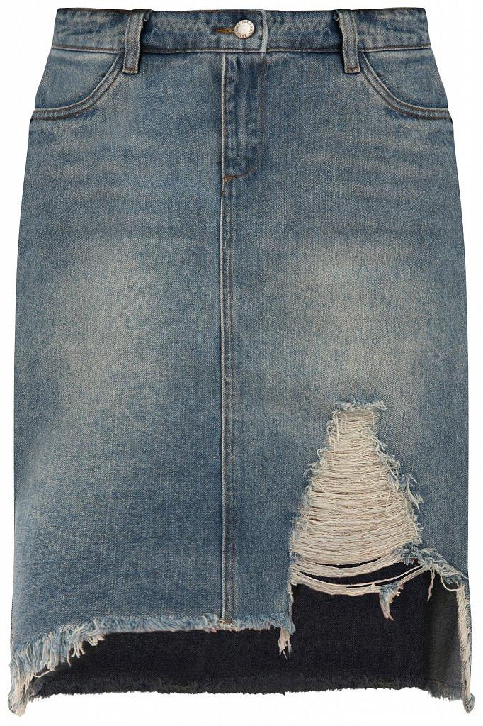 Юбка джинсовая женская, Модель S20-15012, Фото №7