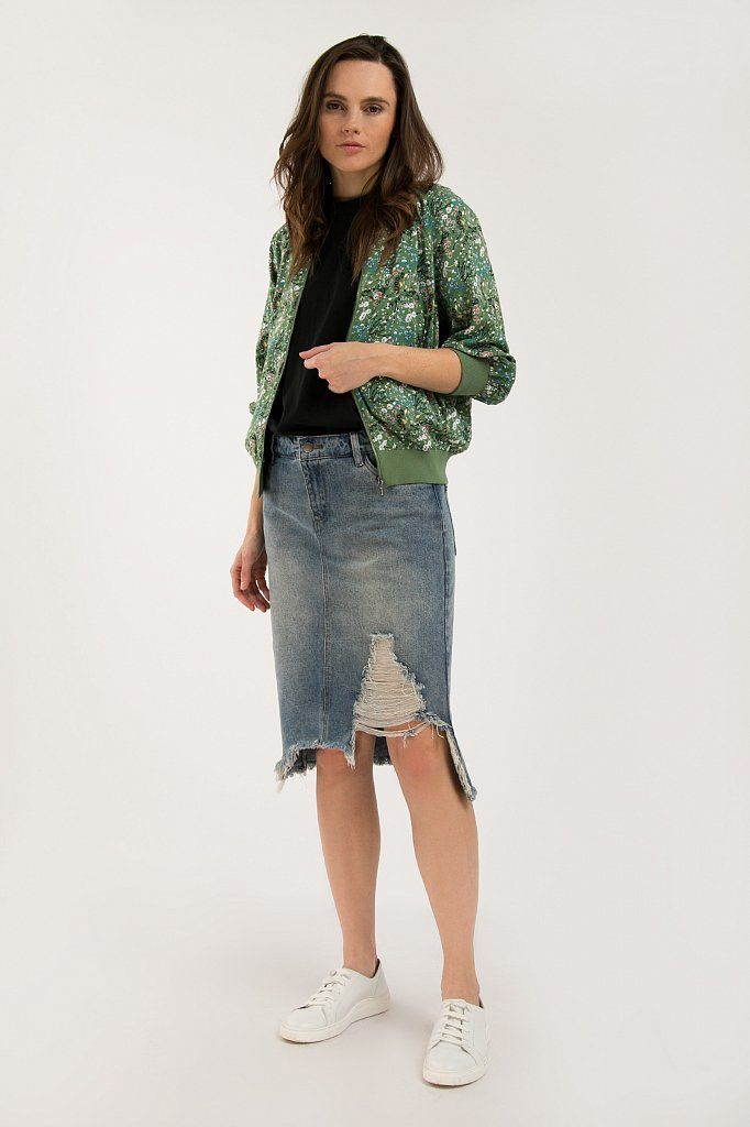 Юбка джинсовая женская, Модель S20-15012, Фото №3