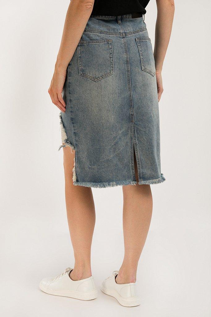 Юбка джинсовая женская, Модель S20-15012, Фото №5