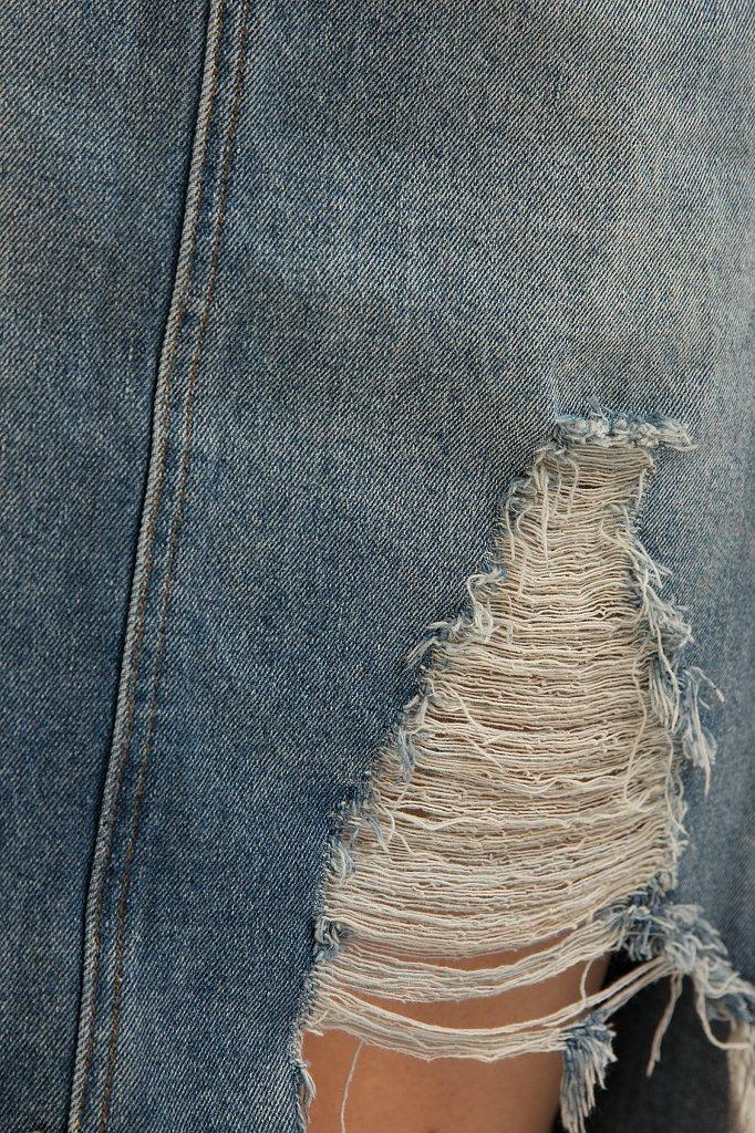 Юбка джинсовая женская, Модель S20-15012, Фото №6